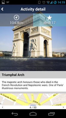 c6 220x391 Tripomatics daily travel planning and itinerary app finally lands on Android