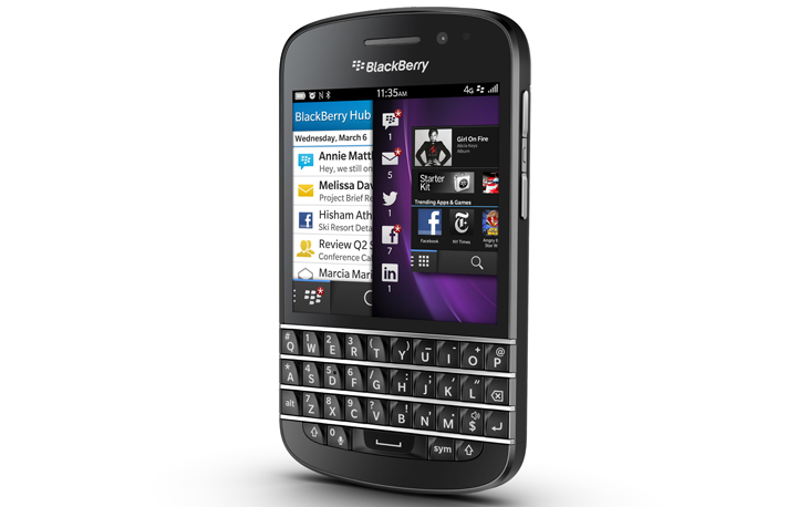 newq10 BlackBerry Q10 pre orders open in the UK, £579.95 SIM free or from £32/month on a two year contract