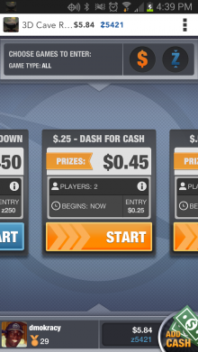 skillz 1 220x391 Skillz enters beta with an Android gaming platform that let players compete for real money