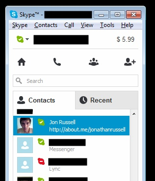 skype lync Microsoft begins to integrate its enterprise focused Lync service with Skype