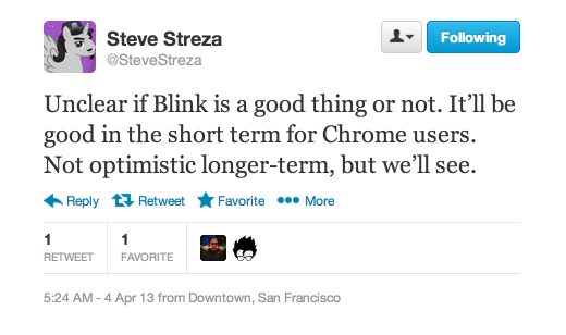 streza blink 520x308 Google forks Apples Webkit to create Blink rendering engine for Chrome