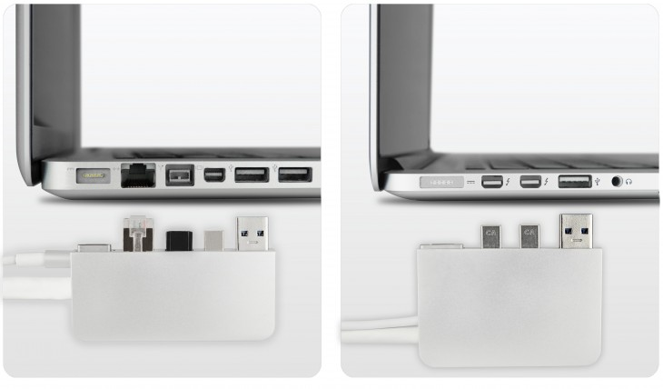 zendock two crop 730x428 The ZenDock Kickstarter project offers an elegant way to dock your MacBook Pro