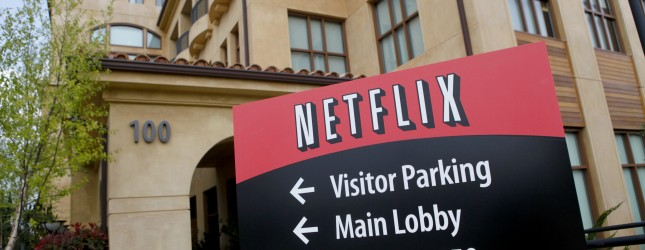 Netflix headquarters is pictured in Los