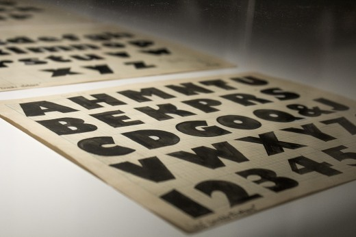 IMG 2064 520x346 Type design inspiration: Inside the evolution of typography at Monotype