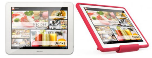 "Screen Shot 2013 05 13 at 18.05.02 520x200 Enjoy cooking? Archos lifts the lid on the ChefPad, a budget 9.7"" Android tablet launching in June"