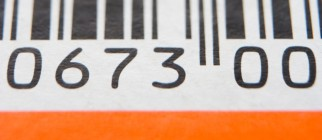 Close-Up Of Barcode
