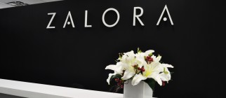 ZALORA sign