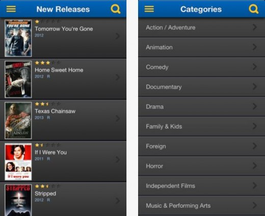 a3 520x424 Blockbuster updates its disc rental iOS app, letting US users view trailers, manage their queue and more