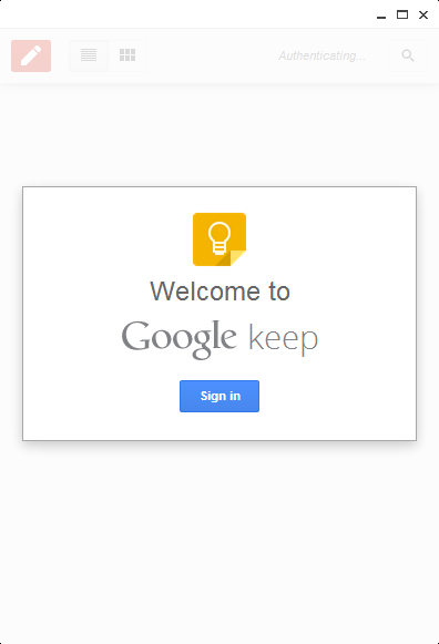 google keep sign in Google launches Chrome app for its Keep service: Manage your notes, to do lists, and photos even when offline