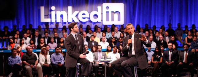 Obama Participates In Linkedin Town Hall