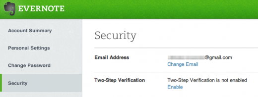 photo 4 520x196 Following major breach in February, Evernote finally brings optional two factor authentication to all accounts