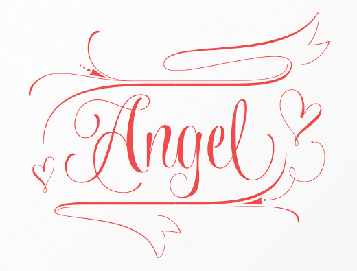 wishes script 30 of the most beautiful typeface designs released last month (April)