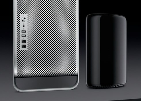 2013 06 10 11h03 03 Apple previews a completely new Mac Pro: 12 core Xeon CPU, PCIe flash storage, externally expandable