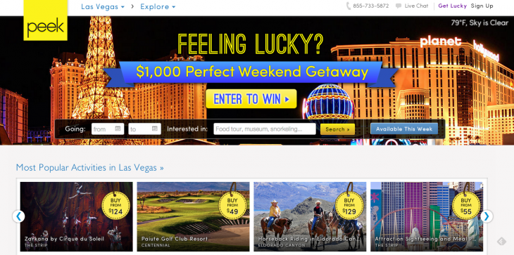Screen Shot 2013 06 06 at 6.26.09 AM 730x363 Travel activity marketplace Peek launches in Las Vegas