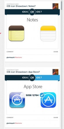 Screen Shot 2013 06 26 at 3.06.41 PM 220x442 Polar: After 289k votes, 66% are in favor of iOS 7s new icons