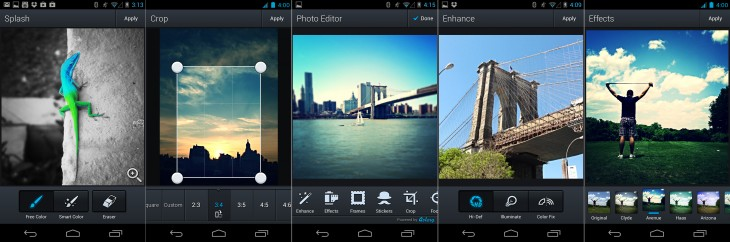 aviary photo editor android 730x242 Aviary updates its Photo Editor for Android with better photo tools, filters, stickers and more