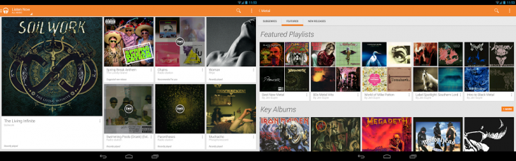 google play music 730x228 Google Play Music updated with faster music downloads, search quality improvements, and reduced data usage