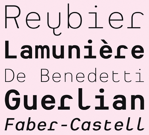 heimat mono The 24 most beautiful typefaces released last month