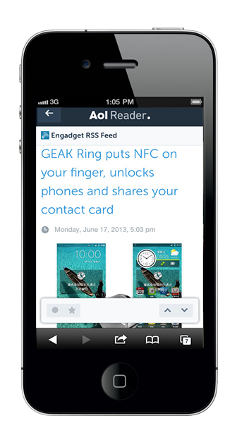 image002 AOL Reader hands on: An unexciting but solid Google Reader replacement to rival Feedly
