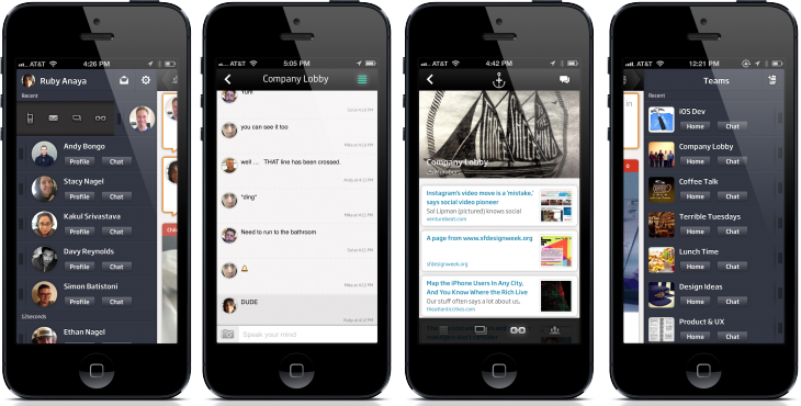 people tab ID 730x370 Tomfoolery launches Anchor, its consumer app to help coworkers be more social