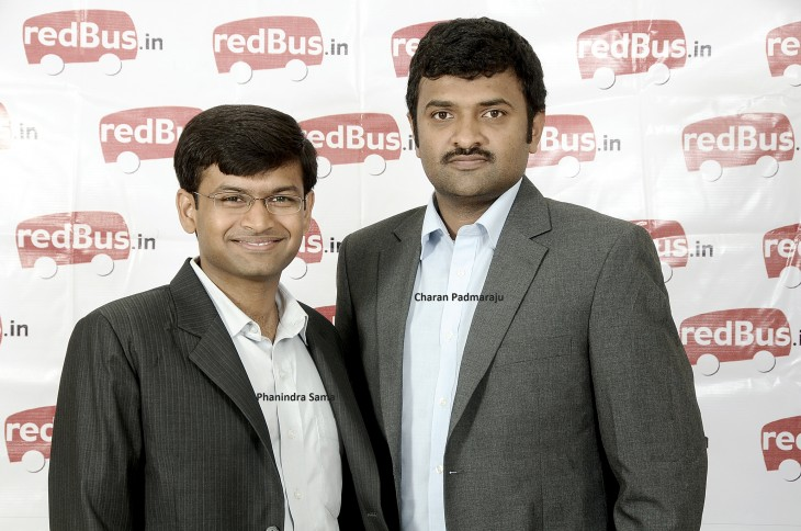 redBus Founders Phani and Charan 1 730x484 Ibibo, the Naspers Tencent joint venture in India, confirms its undisclosed acquisition of RedBus