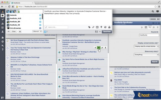 syndicator screenshot3 520x324 HootSuite Syndicator: Yet another new RSS app, but with a special twist for social media marketers