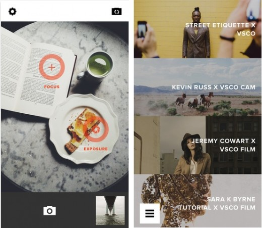 vsco 520x451 19 apps that already look perfect for iOS 7
