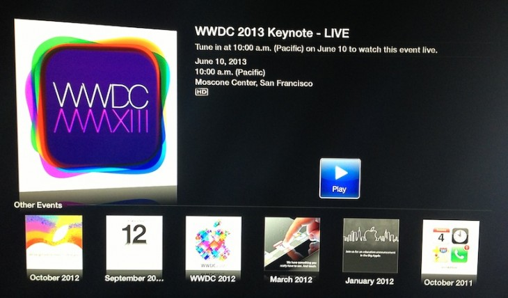 wwdc2 730x428 Apple will stream its WWDC keynote live to the Web and Apple TV