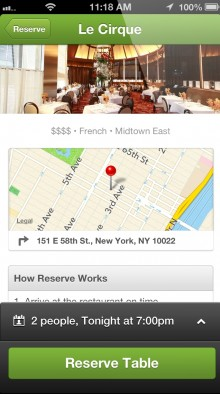 4 220x394 Groupon Reserve lands on iOS, bringing premium offers to users on the move
