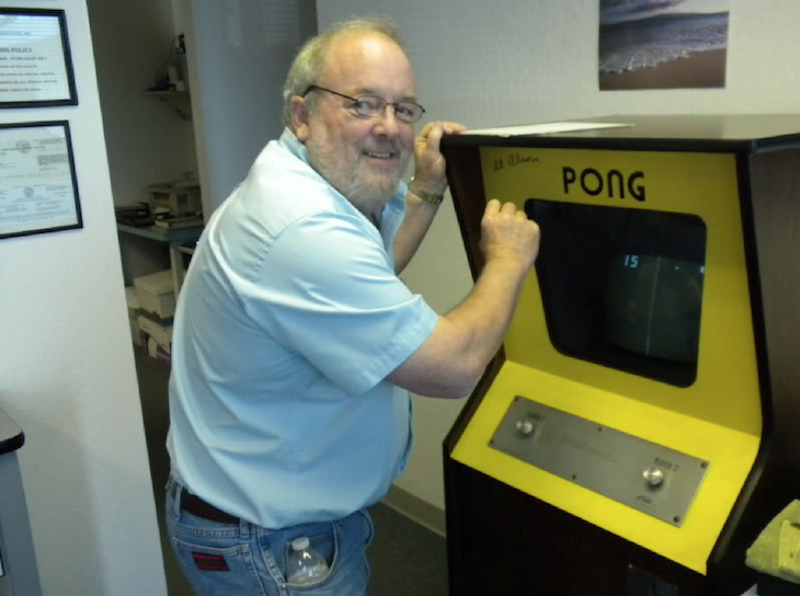 Alan Alcorn Take a break from work: Pong.com emerges as a Pinterest for flash games