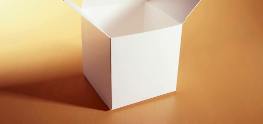 Close-up of a box