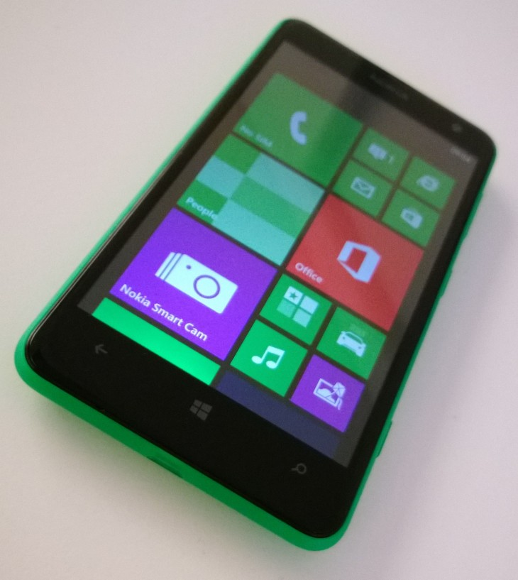 Lumia 625 front 730x817 Hands on with the Lumia 625   will 4G LTE on a budget be enough to woo buyers?