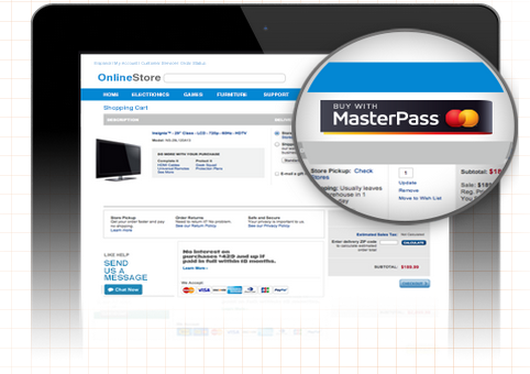 MasterPass payment MasterCards online wallet MasterPass touches down in the UK on its way into Europe