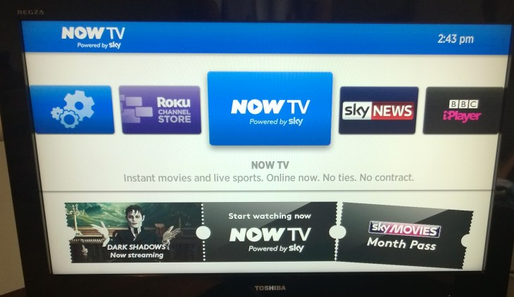 Now TV Menu 730x422 Now TVs niche: A look at whether Sky Sports day passes can infiltrate homes across the UK