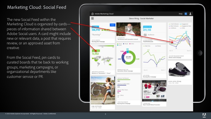 Slide02 Adobe Social update brings predictive publishing and integration with Foursquare, Instagram and LinkedIn