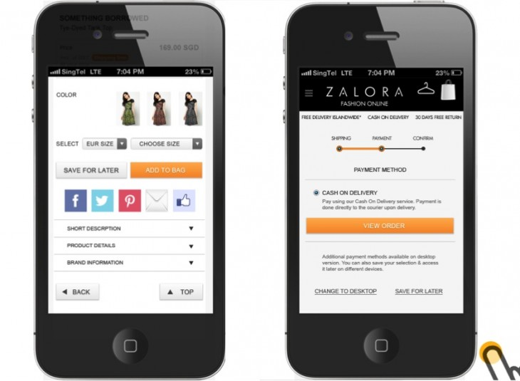 Zalora Site 730x535 Zalora, Rocket Internets Southeast Asia online fashion store, launches an Android app