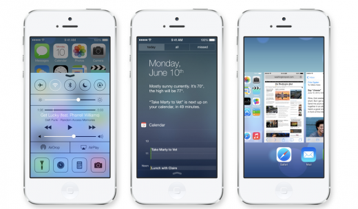 apple shot 1 520x304 5 things to know when converting your app design to iOS 7