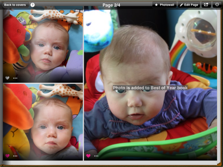 b16 730x547 Tapsbook for iPad taps photos from your camera roll and cloud storage and turns them into albums