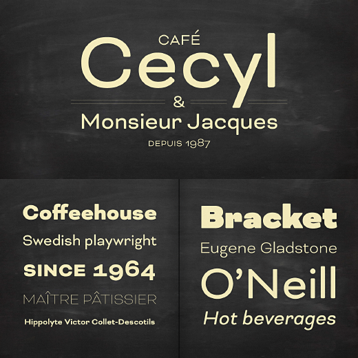 bicyclette 30 of the most beautiful typefaces released last month