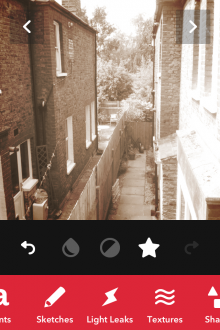 d10 220x330 Landcam: A beautifully designed camera app for iPhone with filters, fonts and all the fun of the fair