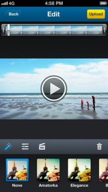 d7 220x391 YouTube rival Dailymotion launches a standalone video recording app to encourage user generated content