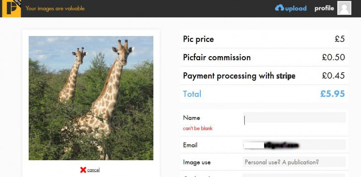 e5 730x359 Picfair wants to help you monetize your snaps and simplify the photo buying market
