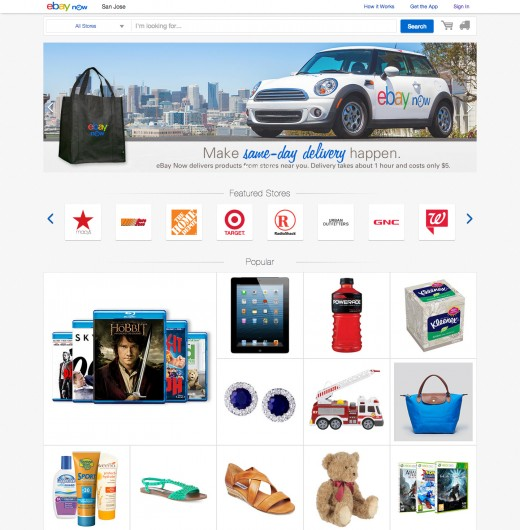 eBay Now Desktop 520x530 Same delivery service eBay Now lands in the Bay Area Peninsula, Brooklyn and Queens with new desktop app