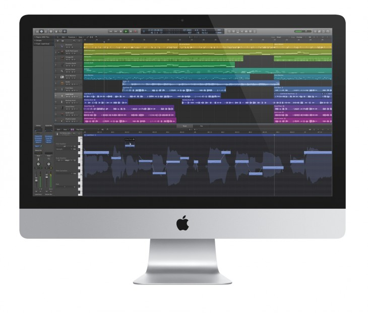 logic pro x 730x621 Apple launches Logic Pro X and Main Stage 3 for pro musicians, plus new iPad app Logic Remote