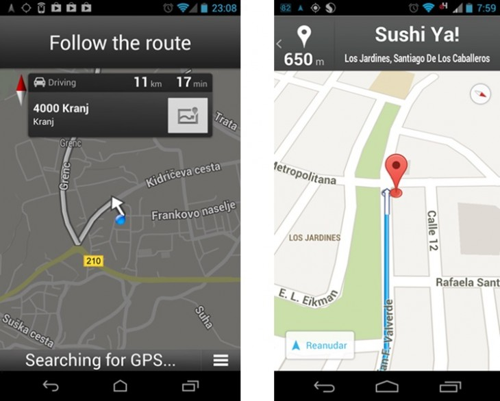 mapsandroidimg 730x586 Google Maps for Android navigation features now available in 19+ more countries worldwide