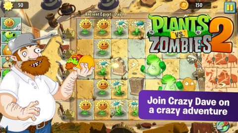 mzl.xgpwjinp.320x480 75 EA soft launches Plants vs Zombies 2 for iOS in Australia and New Zealand, global rollout date unclear