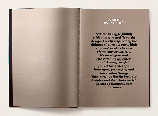 salome 30 of the most beautiful typefaces released last month