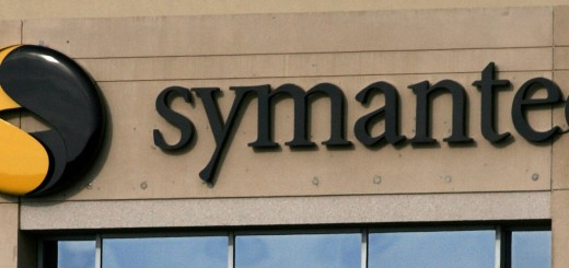 A photo of the Symantec logo is shown at