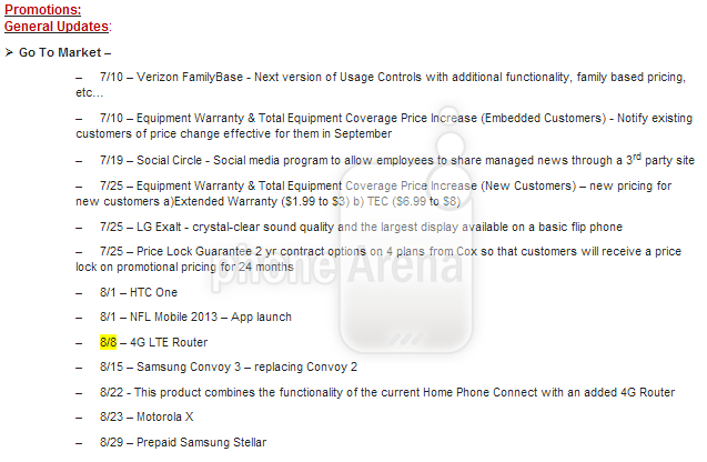 vzmap Latest rumors claim Googles Moto X will launch in August, on Verizon in the US and on Rogers in Canada