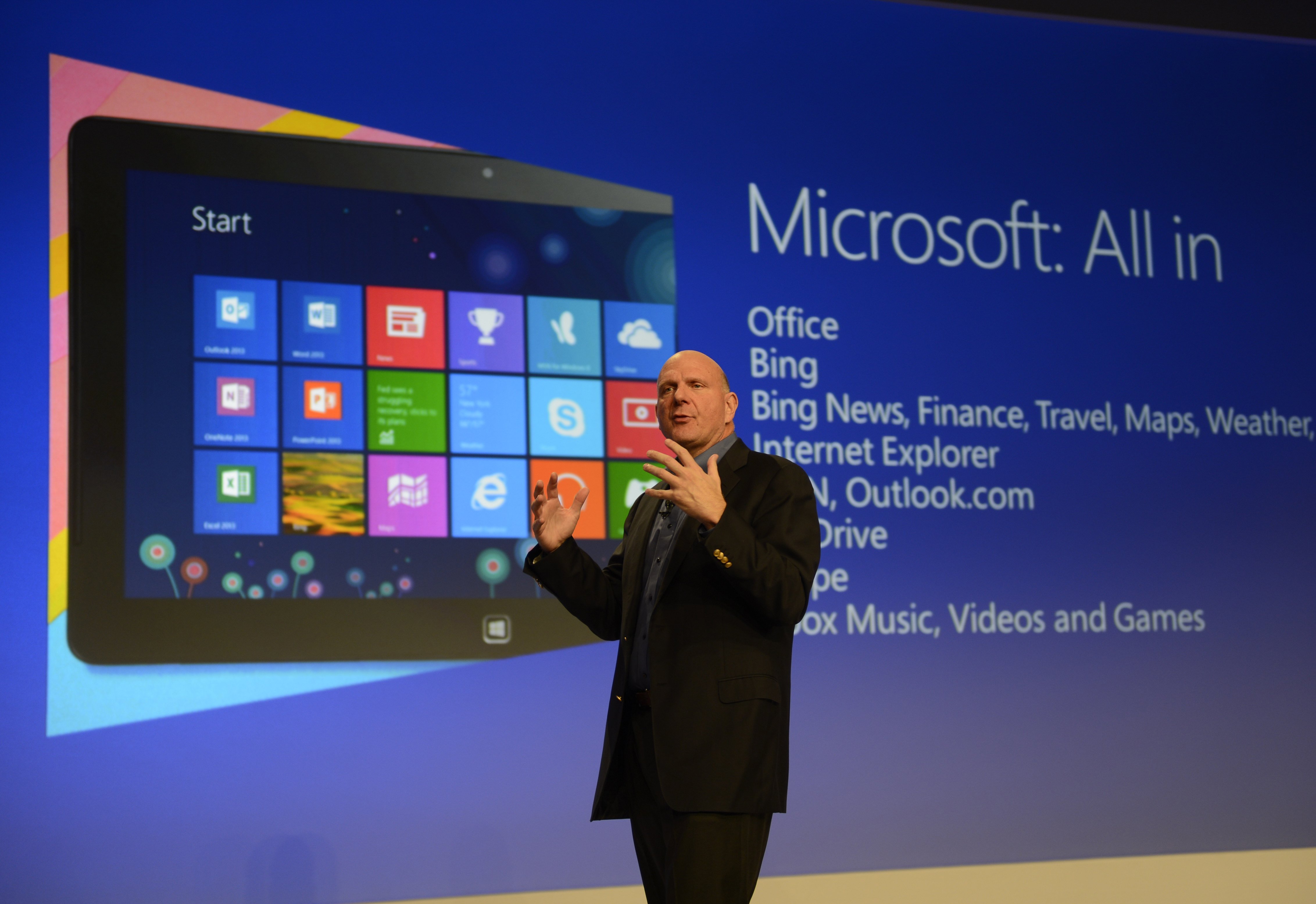 154744637 Best of Ballmer: The products and moments that marked the tenure of Microsofts CEO